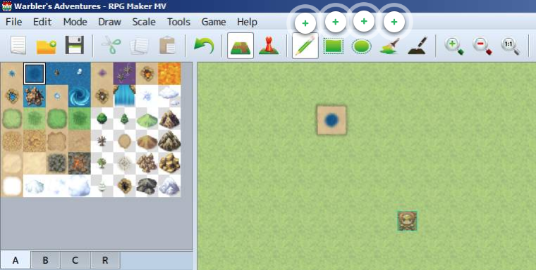 rpg maker tile palette