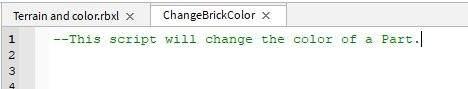 Roblox Lua Else If Roblox Lua Coding Basics Ontouch Change Brick Color More