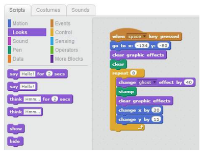 scratch block coding example