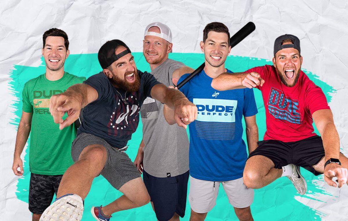 dude perfect group shot jumping