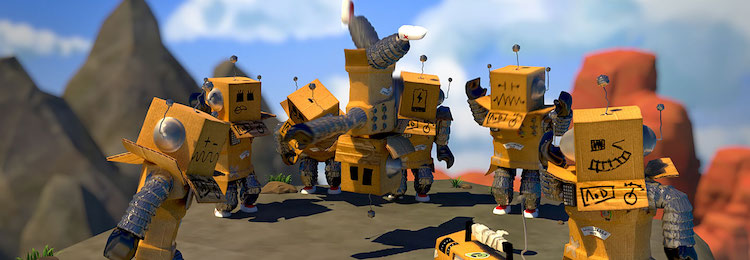 roblox robots in a circle and dancing