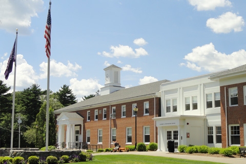 A photo of Curry College
