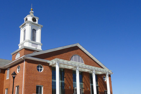 A photo of Bentley University