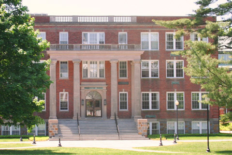 A photo of Eastern Nazarene College