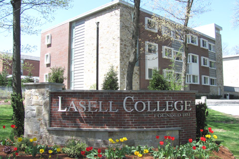 A photo of Lasell College