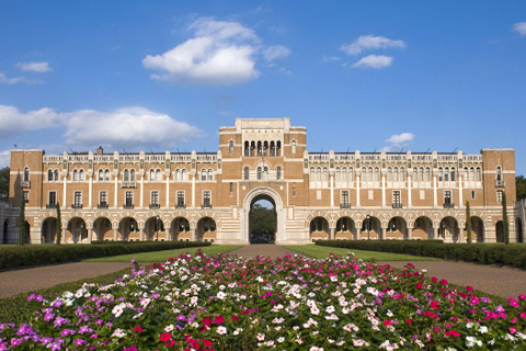 A photo of Rice University