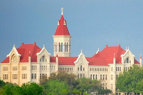 A photo of St. Edward's University
