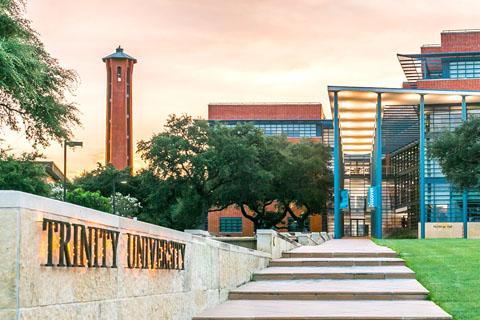 A photo of Trinity University