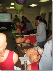 cpr in the main office