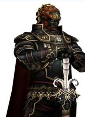 Ganondorf, as depicted in The Legend of Zelda: Twilight Princess