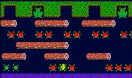 Frogger Game Screenshot