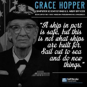 Grace Hopper quote