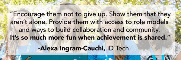 Alexa Ingram-Cauchi Leaders on Girls in STEM