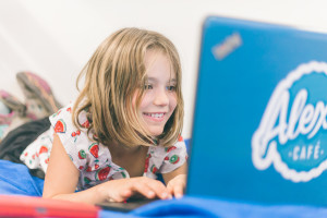 girl, coding, computer, Minecraft, programming