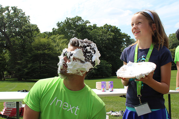 Instructor Pied at Camp