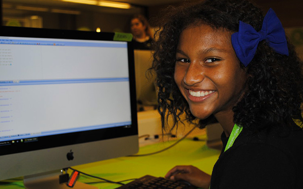 iD Tech Camper Learns Java