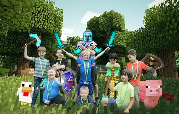 iD Tech Minecraft Camp