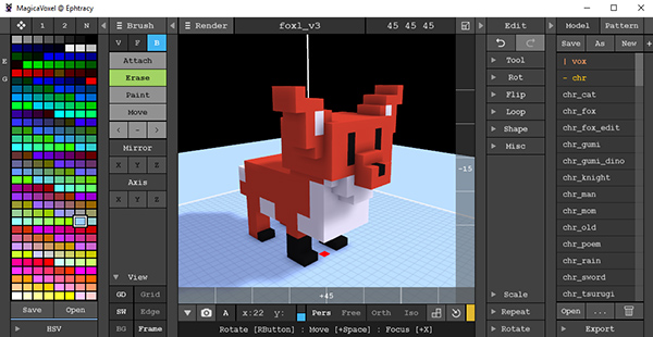 A MagicaVoxel Tutorial for Beginners & Kids Who Like