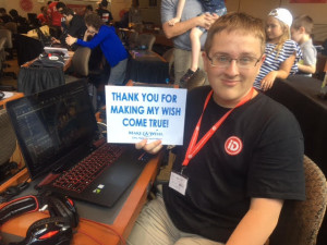make-a-wish, id tech, philanthropy, success story