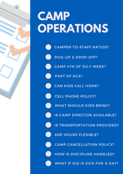 Summer Camp Qs Operations