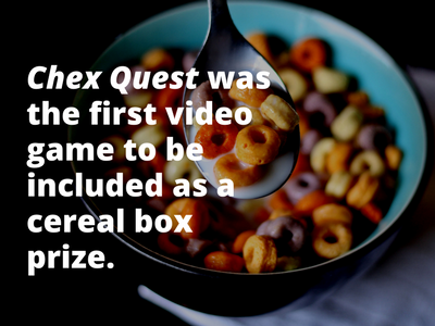 Video Game Facts Chex
