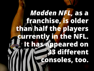 Video Game Facts Madden