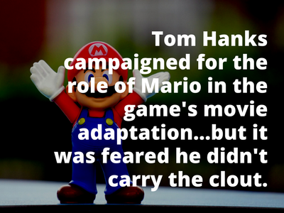 Video Game Facts Mario Movie