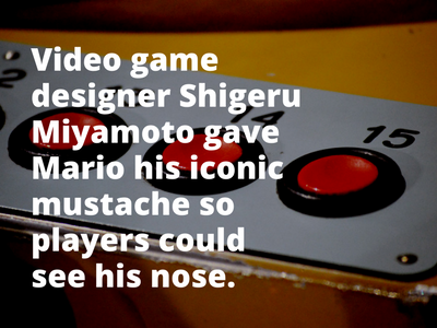 Video Game Facts Mario