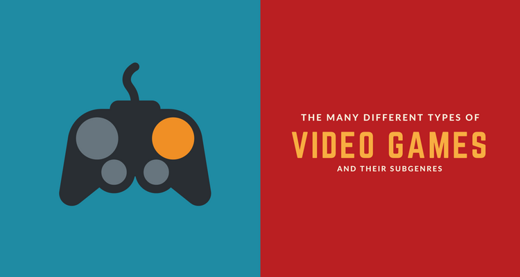 Ultimate List of Different Types of Video Games | 49 Genres