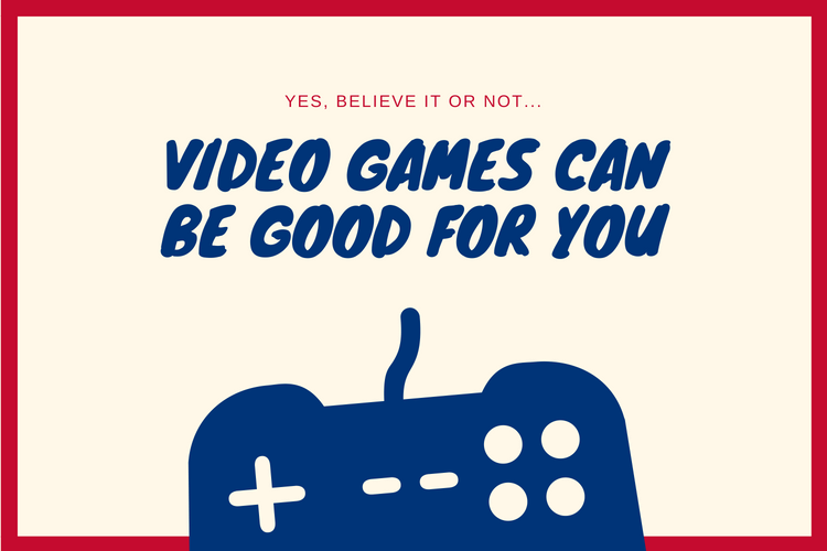 video games are good for you, brain and body why they are beneficialid tech in action