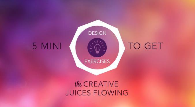 5 Mini Graphic Design Exercises for Beginners | Creative